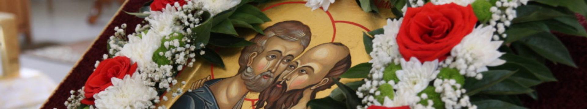 Храм  святых первоверховных апостолов Петра и Павла пгт. Шушенское